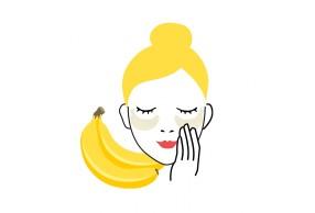 Masque naturel banane
