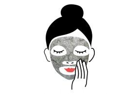 Reusable Black Konjac Mask - Private label manufacturing TAIKI