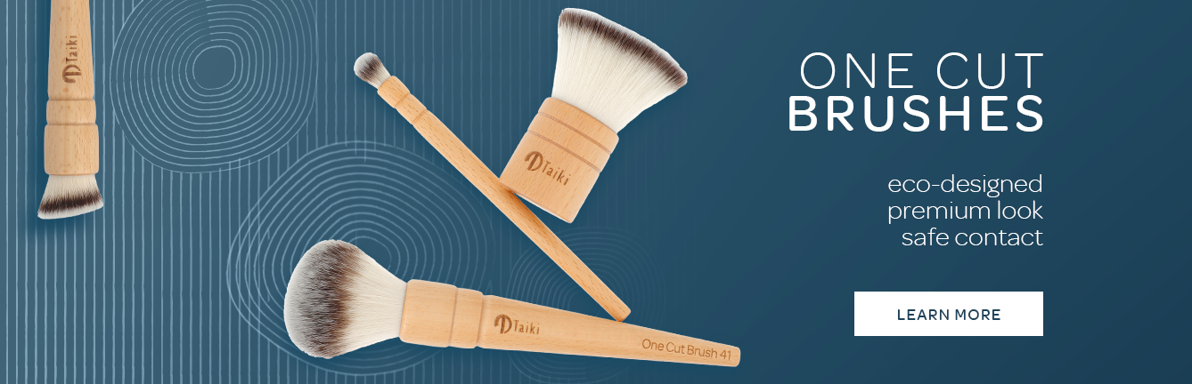 """Supplier of sustainable makeup brushes """"One Cut"""""""